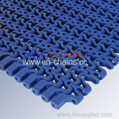 12mm pitch plastic modular conveyor belt Flush grid