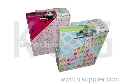 Paper file holder stationery set