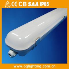 waterproof LED batten light fitting