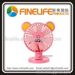 two leaves mini table fan