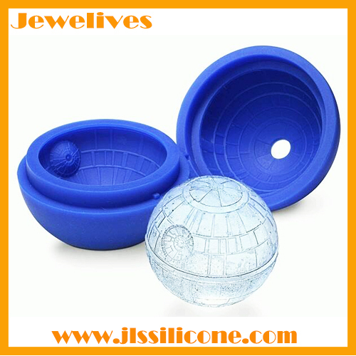 Silicone ice ball maker star wars shape supplier