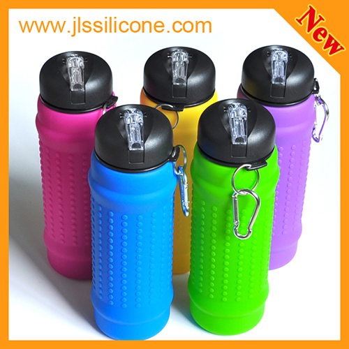 insulated silicone water bottle