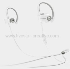 New Powerbeats by Dr.Dre 2 Wireless Earphones for Athletes in white