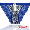2014 New leopard laced cotton bikini panties lady brief stretch cotton short pants women underwear lingerie intimate hot