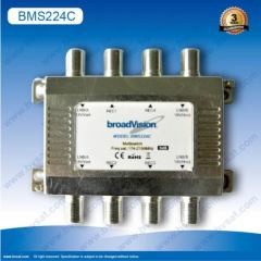 Through line multiswitch 2x2x4 for Brasil market