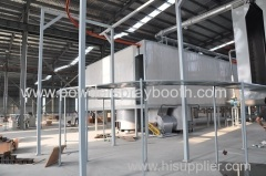 tunnel Curing Oven of Powder Coating