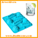 Silicone ice cube maker ship shape fashion