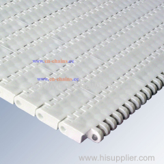 Plastic Slat Top conveyor belt E20 flat top for Manufacturing