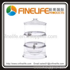Plastic Stackable Beverage Dispenser