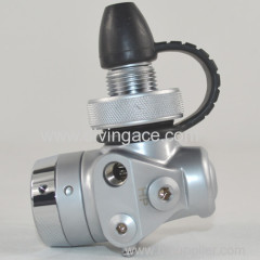 Balance first stage regulator for scuba diving
