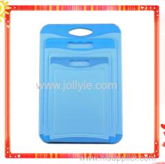 Nonslip Durable Plastic Chopping Board 3 Piece Set