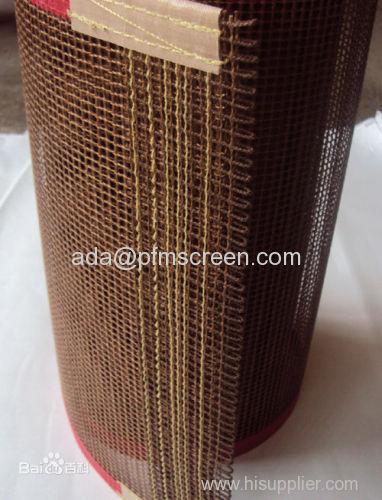 teflon fiberglass mesh belt