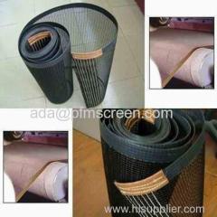 teflon fiberglass mesh conveyor belt