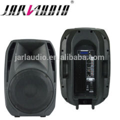 15inch PA plastic active speaker with mp3 player