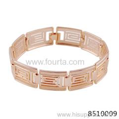 man golden bracelet 585 gold