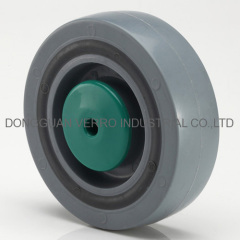 Pallet container ball bearing sandwich caster wheels