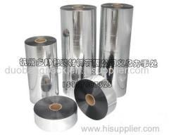 silver metalized pet film