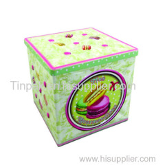 Europe fruit taste candy tin cans