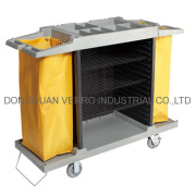 Casters for chambermaid trolley