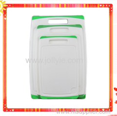 Different Sizes Antislip PP&TPR Plastic Chopping Board Set