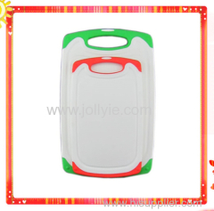 COLORFUL NONSLIP PLASTIC CUTTING BOARD SET