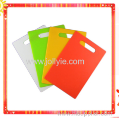 COLORFUL PP PLASTIC CHOPPING BOARD 4 PCS SET