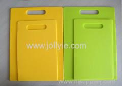 COLORFUL PP PLASTIC CHOPPING BOARD 2 PCS SET