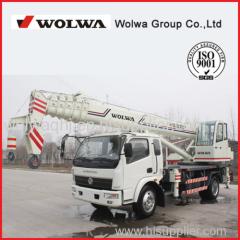 Direct manufacturers 12 ton hydraulic truck crane 360 degrees