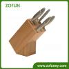 10-slots Bamboo knife block