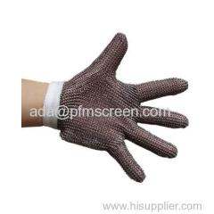 metal mesh glove for butcher