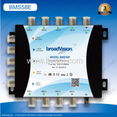 5input 8 recevicers satellite multi switch in satellite TV program