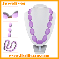 fashion and pritical Silicone bead necklace