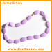 Silicone necklace for baby chewing dress-up gift