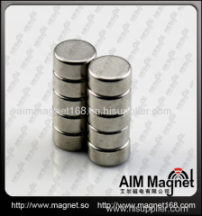 Dia 25mm x 5mm thickness rare earth cylinder magnet