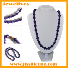 silicone bead necklace for baby