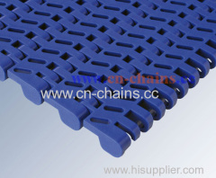 A24 Flush Grid plastic modular conveyor belt heat resistant
