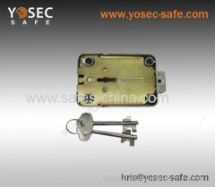 key-operated safe deposit locks/Key Operated Safe Lock Double Bitted