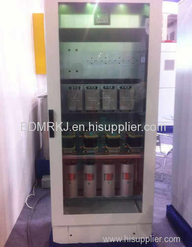 Power factor correction compensation installation, apfc