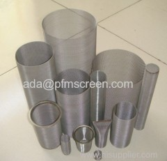 stainless steel mesh cylinder tubes