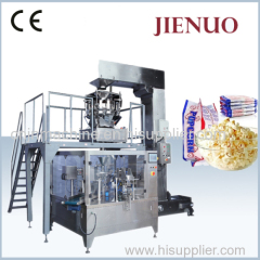 Jienuo Automatic Microwave Popcorn Bag Packing Machine