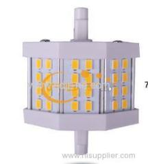5050SMD 5w led r7s light can be dimmable 500lm
