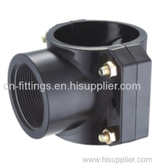 pp clamp saddle compression pipe fittings