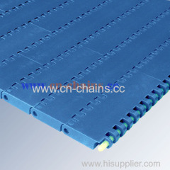 series E30 Flat top conveyor belt used in candy and snack industry