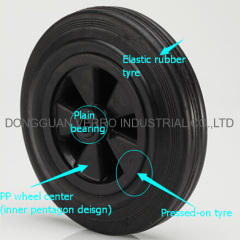 waste container caster wheels