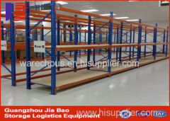 Custom Long Span Stacking Warehouse Storage Racks 5 Tier Shelving Unit 100-800 Kg / level