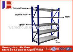 Versatility Middle Duty Warehouse Metal Storage Racks / Display Shelving 73089000