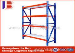 Customized Metal 4 Tier Warehouse Steel Storage Racks L2000mm D600mm H2000mm