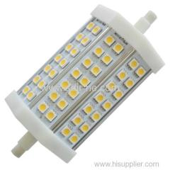 118mm 13w r7s led replace double ended halogen bulb