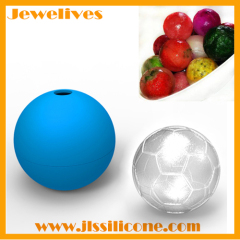 silicone ice ball mold football shape