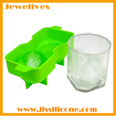 double sphere silicone ice ball maker